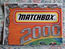 Matchbox Poster Catalog brochure 2000