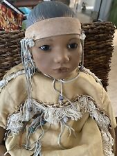 Annette Himstedt Indian Doll Puppen Kinder 25 Inches Original Box