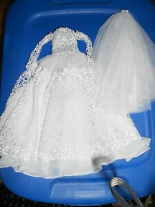 Robert Tonner Tyler Sydney OOAK Artist Wedding Dress Lace and Tulle