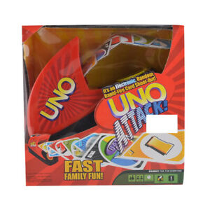 Uno Attack Card Game Board strategy Electronic Kids Family Party Travel AU Stock