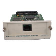 HP 610N JETDIRECT 10/100TX J4169-60023 B-4126-D3 NETWORK CARD PRINT SERVER RJ45