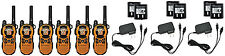 LOT of 6 Motorola TalkAbout MT350R FRS GMRS Walkie Talkie 2-WAY Radio TESTED!