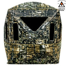 Primos 65152, Double Bull Surround View 180 Ground Blind
