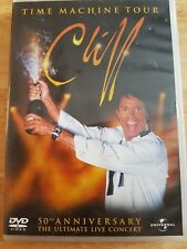 Ref 55 - Cliff Richard; Time Machine Tour DVD, Great For Any Fan
