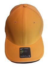 Nike Golf Dri-Fit Adult Unisex Orange Cap Hat Size M/L 832688-804 $32