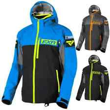Fxr Racing Carbon Tri-Laminate Mens Coats Vented Hooded Zip Up Jackets
