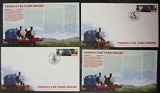 Thomas THE TANK ENGINE 2 PRIMO GIORNO DI EMISSIONE, handstamps diversi, non usato impeccabile