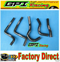 GPI Honda CR125 CR 125R CR125R 2003 2004 03 04 silicone radiator hose BLACK