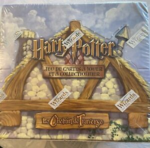 HARRY POTTER TCG LE CHEMIN DE TRAVERSE DISPLAY BOITE 36 BOOSTERS RARE scellée