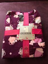 Joe Boxer Juniors 2 Piece Pajamas Set Size S-Cotton
