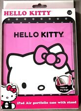 Hello Kitty iPad Air Portfolio Case w/ Stand Sakar Age 5 & Up BNIB
