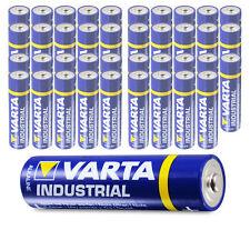 40 x Varta AA Industrial Mignon LR06 Batterie | 2600mAh 1,5V Alkaline| 40 Stk