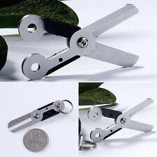 Silber Ufo Abnehmbaren Schnalle Schlüsselanhänger Außen Edc-Tool