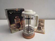 Vintage 1-2 Cup Bodum Bistro Plunger French Coffee Press w/Box