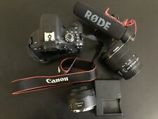 Canon EOS Rebel T6i - 24.2 MP - 50 MM & 18-55 MM Lens Included