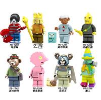 Baukästen 8PCS Anime Adventure Time Marceline Mini Figur Modell Spielzeug Gesche