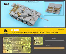 Tetra Model Works 1/35 Russian T-55A (Late) Detail-up Set for Takom Models