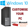 Office PC Desktop Computer Core i7 Windows 10 Pro 16GB RAM WIFI SSD FAST + SMALL