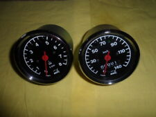 MZ  Set Tacho + Drehzahlmesser   Durchmesser 80 mm  ETZ 125,150,250,251,301
