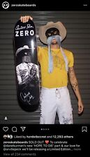 Orville Peck SIGNED Limited Zero Skateboard Deck SOLD OUT 1/250 Jamie Dane Pony