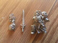 Warhammer 40k Space Marine Dark Angels Deathwing Terminator Captain Metal OOP