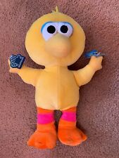 "NOS 11"" Plush Sesame Street Big Bird Doll Toy with Tags from Applause"
