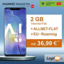 Huawei Mate 20 Pro mit Mobilcom Vodafone Handy mit Vertrag 2GB nur 36,99€mtl.