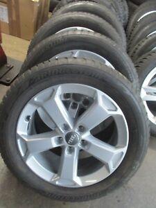 Original Audi Q2 Winterräder 7x17 ET5 + 215/55R17 Bridgestone Blizzak 81A071497A