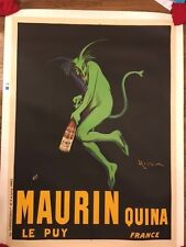 Original Maurin Quina Vintage French Advertising Poster Cappiello 1906