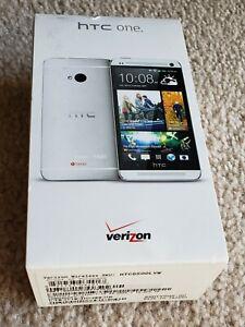 HTC One, 32 GB, Verizon 4G LTE...... Silver Color, Used