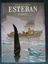 Esteban 3 EO La Survie Bonhomme Dupuis Le Voyage d'Esteban Dupuis
