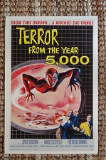 Terror From the Year 5000 Lobby Card Movie Poster Fredric Downs Joyce Holden