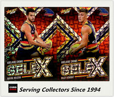 2018 Select AFL Footy Stars Selex Subset Card Team Set(2)-Adelaide