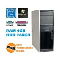 WORKSTATION HP XW4600 CORE 2 DUO RAM 4GB HDD 160GB RS232 WIN 7 ULTIMATE-
