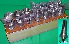 Calidad Bridgeport tipo R8 Set Pulgadas 14 Collares Cónico Collet 1/16 - 7/8 en Stand