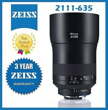 Pre-Order Zeiss Milvus 135mm f/2 ZF.2 Lens for Nikon F Mfr# 2111-635