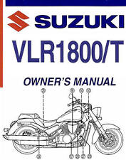 2008 SUZUKI VLR1800/T C109R BOULEVARD MOTORCYCLE OWNERS MANUAL -C109R BLVD