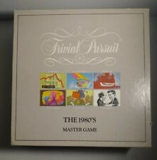 "Trivial Pursuit The 1980""s Master Game Parker Brothers Vintage Game"