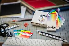 Shades Color Swatches - Coated & Uncoated CMYK Process System Guide
