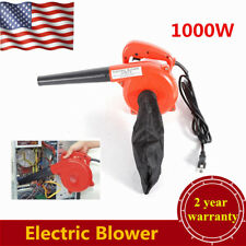 110V Electric Operated Air Blower DUST Cleaning Computer Vacuum Cleaner 1kW Red