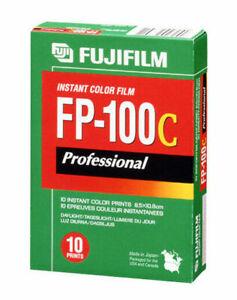 Expired 2014 NEW UNOPENED  Fujifilm Fuji FP-100C Instant Color Film