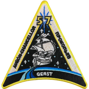 NASA International Space Station (ISS) Expedition 57 Mission Embroidered Patch