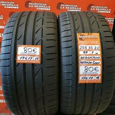 2 x255 35 R20 97Y XL 5.7mm+6.1mm DOT16/18 Bridgestone Potenza S001 AO Ref. 17617
