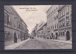 TOP Karte Grieskirchen 1911 mit Bahnhofkastenstempel gelaufen 1912 siehe