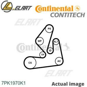 V-RIBBED BELT SET FOR OPEL RENAULT NISSAN MOVANO B BUS M9T 670 M9T 676 CONTITECH