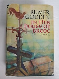 In This House of Brede by Rumer Godden - 1969 BOMC 1st Edition Hardcover/DJ