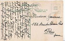 Genealogy Postcard - Family History - Garenne - Paris - France 1093A