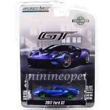 2017 Ford GT Blue Hobby 1/64 Diecast Car Model by Greenlight 29933