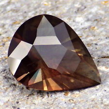 GREEN-MAHOGANY SCHILLER OREGON SUNSTONE 3.91Ct FLAWLESS-TOP COLLECTOR GRADE!
