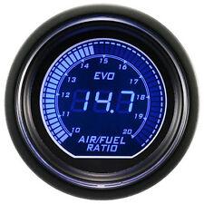 """2"""" 52mm Car Air Fuel Ratio Gauge Red/Blue Digital LED Display Auto Gauge Meter"""